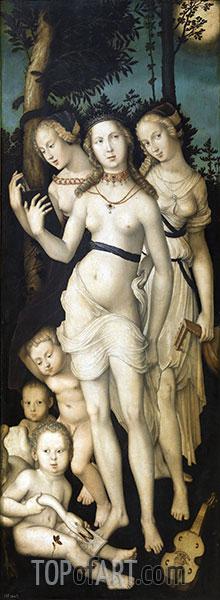 Hans Baldung Grien | Harmony (The Three Graces), c.1541/44