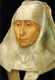 Porträt einer alten Frau, c.1468/70 von Hans Memling | Gemälde-Reproduktion