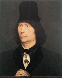 Portrait of Anthony of Burgundy | Hans Memling | outdated