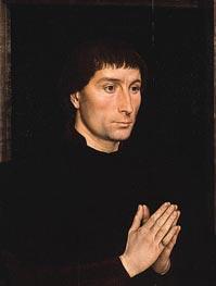Tommaso di Folco Portinari, c.1470 von Hans Memling | Gemälde-Reproduktion