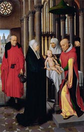 Presentation in the Temple, c.1470/72 by Hans Memling | Painting Reproduction