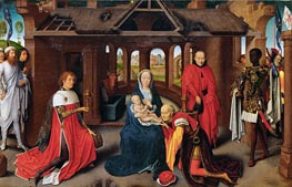 The Adoration of the Magi | Hans Memling | Painting Reproduction