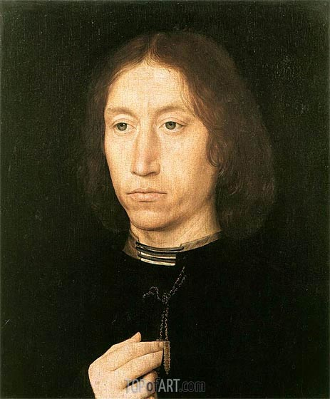 Portrait of a Man, c.1478/80 | Hans Memling | Painting Reproduction