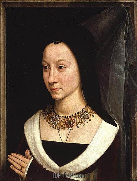 Maria Portinari (Maria Maddalena Baroncelli, c.1470 | Hans Memling | Painting Reproduction
