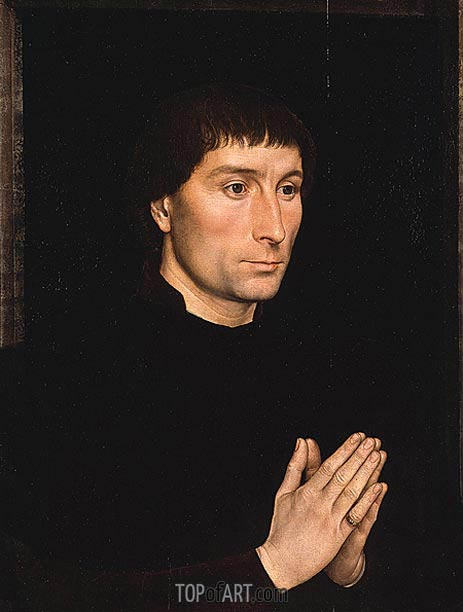 Tommaso di Folco Portinari, c.1470 | Hans Memling | Painting Reproduction
