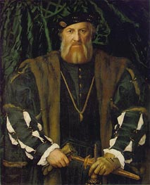 Portrait of Charles de Solier, Lord of Morette, c.1534/35 by Hans Holbein | Painting Reproduction