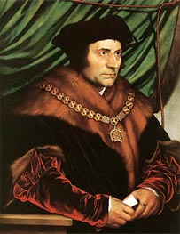 Portrait of Sir Thomas More | Hans Holbein | Painting Reproduction