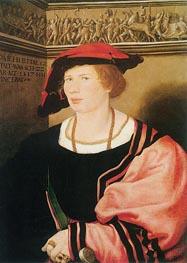 Portrait of Benedikt von Hertenstein, 1517 by Hans Holbein | Painting Reproduction