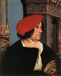 Portrait of Jakob Meyer zum Hasen, 1516 by Hans Holbein | Painting Reproduction