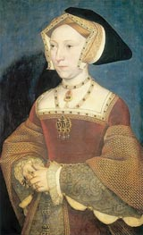 Portrait of Jane Seymour, c.1537 by Hans Holbein | Painting Reproduction