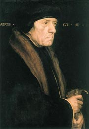 Portrait of John Chambers, c.1543 by Hans Holbein | Painting Reproduction