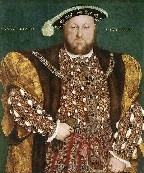 Hans Holbein | Portrait of Henry VIII, c.1540