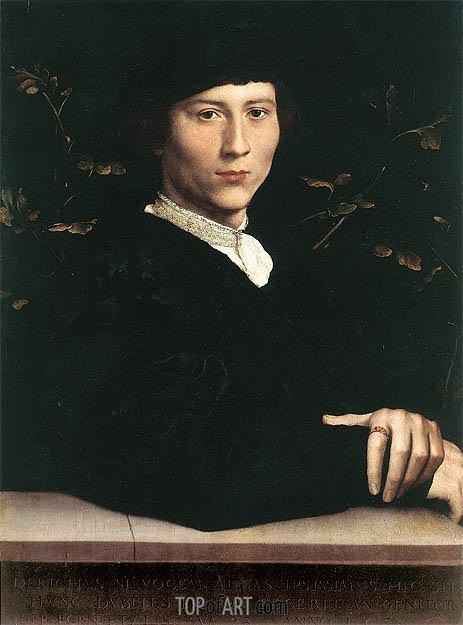 Hans Holbein | Portrait of Derich Born, 1533