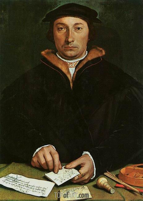 Hans Holbein | Portrait of Dirck Tybis, 1533