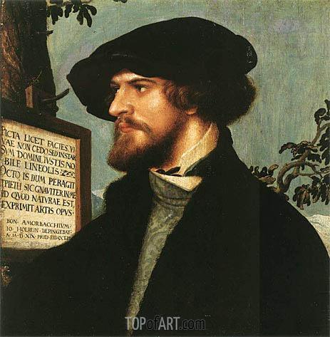 Hans Holbein | Portrait of Bonifacius Amerbach, 1519