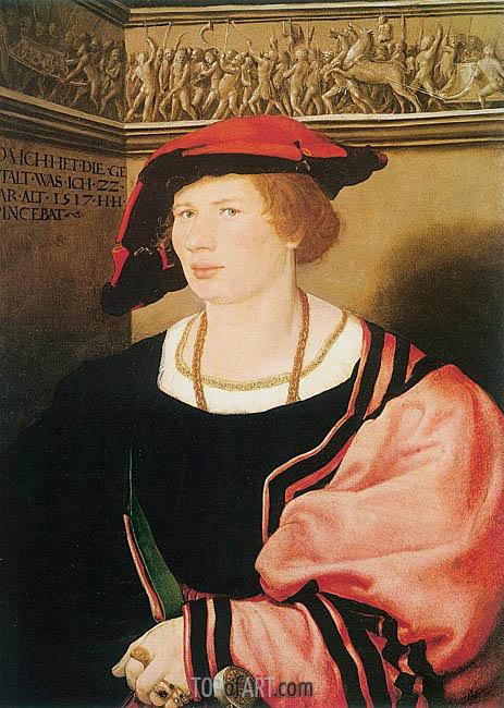 Hans Holbein | Portrait of Benedikt von Hertenstein, 1517