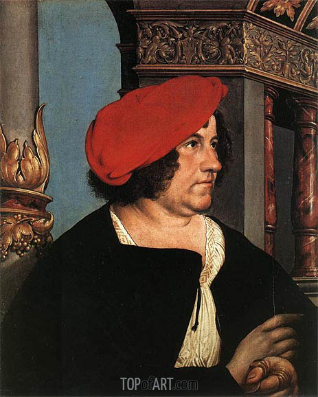 Portrait of Jakob Meyer zum Hasen, 1516 | Hans Holbein | Painting Reproduction
