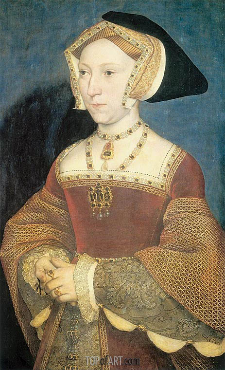 Portrait of Jane Seymour, c.1537 | Hans Holbein | Painting Reproduction