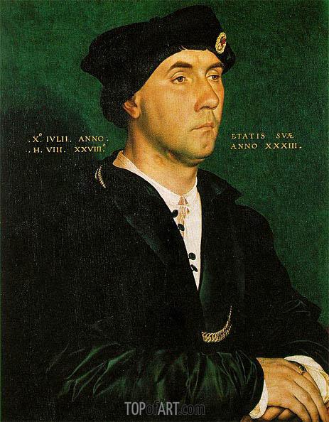 Hans Holbein | Portrait of Sir Richard Southwell, 1536