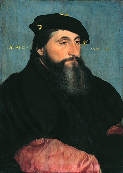 Portrait of Duke Antony the Good of Lorraine, c.1543 | Hans Holbein | Painting Reproduction