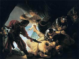The Blinding of Samson, 1636 by Rembrandt | Painting Reproduction