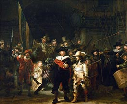 The Night Watch, 1642 by Rembrandt | Painting Reproduction