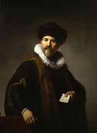 Portrait of Nicolaes Ruts | Rembrandt | Gemälde Reproduktion