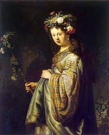Flora | Rembrandt | Gemälde Reproduktion