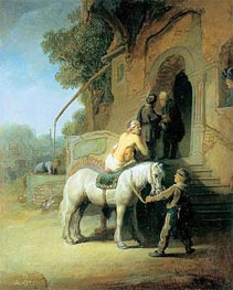 The Good Samaritan | Rembrandt | Gemälde Reproduktion