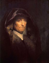 An Old Woman (The Artist's Mother) | Rembrandt | veraltet