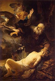 The Sacrifice of Abraham | Rembrandt | veraltet
