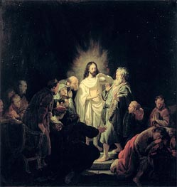 The Incredulity of St Thomas | Rembrandt | veraltet
