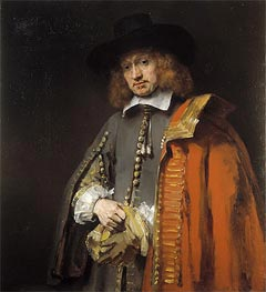 Portrait of Jan Six | Rembrandt | veraltet