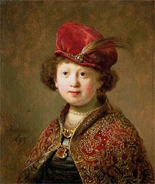 A Boy in Fanciful Costume | Rembrandt | veraltet