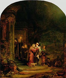 The Visitation | Rembrandt | veraltet