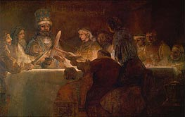 The Conspiracy of the Batavians under Claudius Civilis | Rembrandt | veraltet