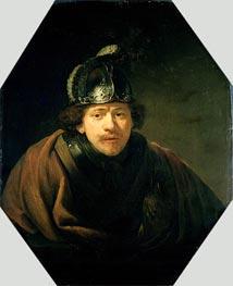 Self Portrait with Helmet | Rembrandt | veraltet