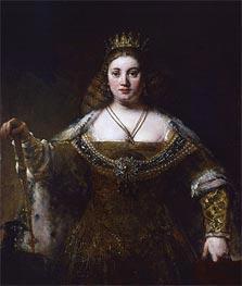 Juno | Rembrandt | Gemälde Reproduktion