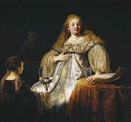 Artemis | Rembrandt | Gemälde Reproduktion