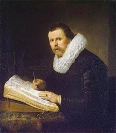 Portrait of a Scholar | Rembrandt | Gemälde Reproduktion
