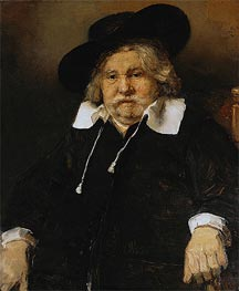 Portrait of an Elderly Man, 1667 by Rembrandt | Painting Reproduction