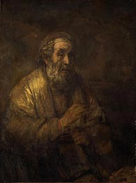 Homer, 1663 by Rembrandt | Painting Reproduction