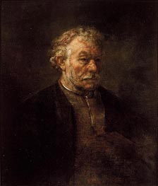 Portrait of Older Man, 1650 by Rembrandt | Painting Reproduction