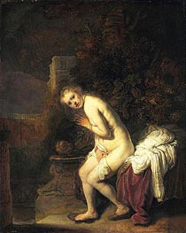 Susanna | Rembrandt | Gemälde Reproduktion
