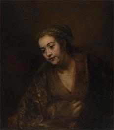 Hendrickje Stoffels | Rembrandt | Gemälde Reproduktion