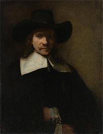 Portrait of a Man | Rembrandt | Gemälde Reproduktion