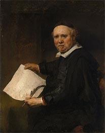 Lieven Willemsz van Coppenol | Rembrandt | Gemälde Reproduktion