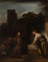 Christ and the Woman of Samaria | Rembrandt | veraltet