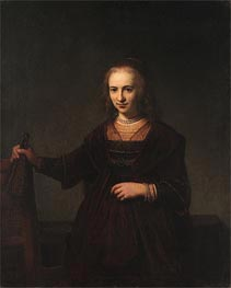 Portrait of a Woman | Rembrandt | Gemälde Reproduktion