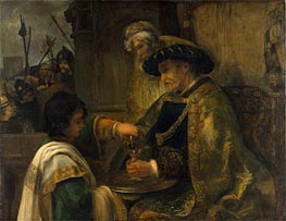 Pilate Washing His Hands, Undated by Rembrandt | Painting Reproduction